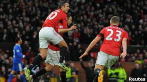 Manchester United karda da zirvede