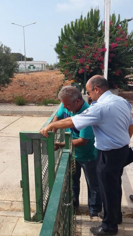 Bafra Arıtma Tesisi mühürlendi