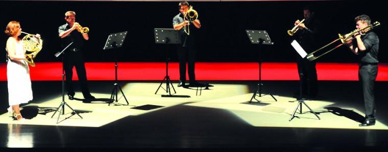 Golden Horn Brass Mağusa festivaline renk kattı