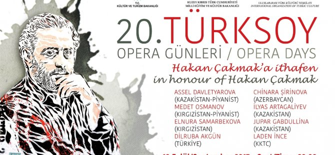 20. Türksoy Opera Günleri yarın başlıyor