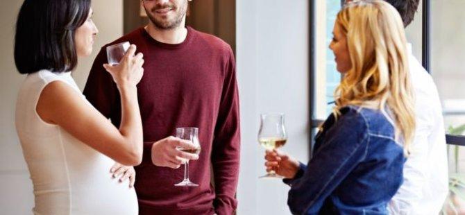Hamilelikte düşük miktarda alkol alımı zararlı olmayabilir