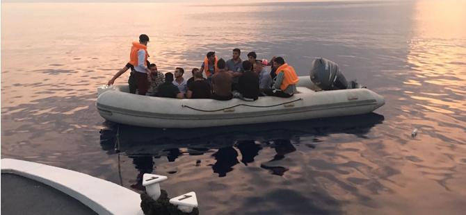 Tatlısu yakınlarında mülteci operasyonu!
