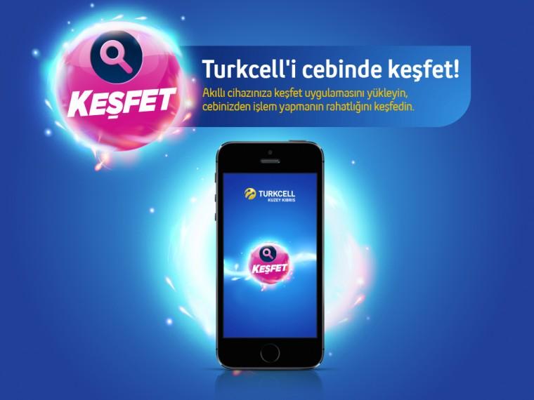 """Kuzey Kıbrıs Turkcell'in """"Keşfet""""i artık iOS 7'de"""