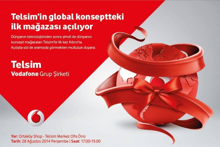 Telsim'in global konseptteki ilk mağazası açılıyor