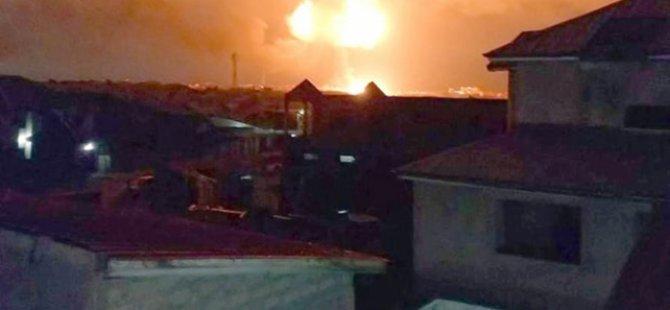 Gana'da gaz istasyonunda patlama: Çok sayıda kişi öldü
