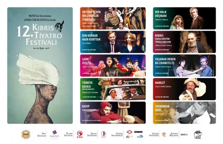 """Tiyatro Festivali 2 Eylül'de """"perde"""" diyecek"""
