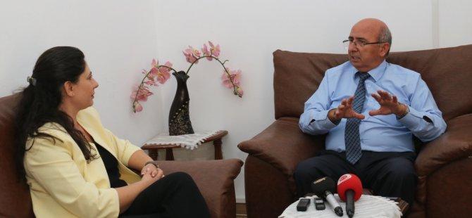 TIP-İŞ, TDP'yi ziyaret ederek destek istedi