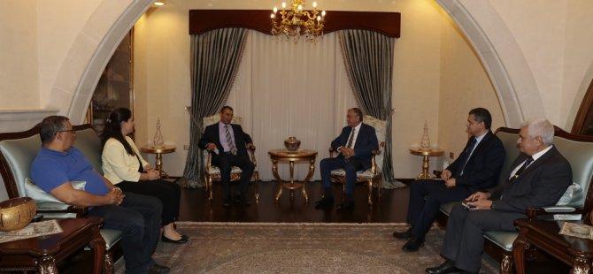 Cumhurbaşkanı Akıncı, sağlık örgütlerini kabul etti