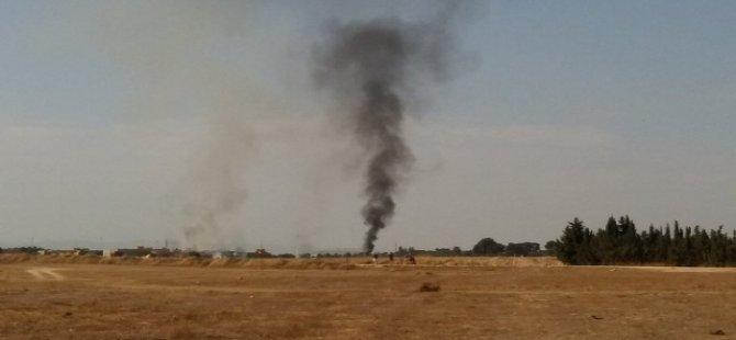 İspanya'da askeri uçak düştü