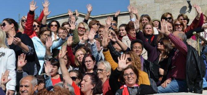 Kadınlardan 'müftü nikahı tasarısı'na karşı eylem