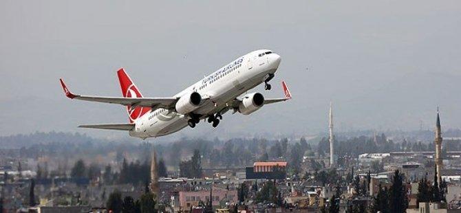 Motoruna kuş çarpan THY uçağı geri döndü