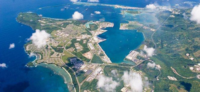 Kuzey Kore'den Guam'a yeni tehdit: Elimiz tetiğe gidiyor