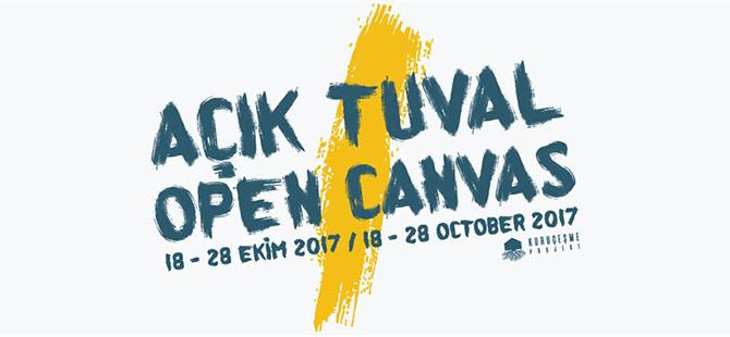 Açık Tuval Resim Sergisi, 18 Ekim'de açılacak