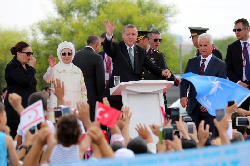 Tayyip Erdoğan'ın KKTC ziyaretine güneyden tepki