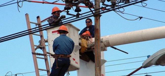 Kıb-Tek 11 kV izolatör değişimi çalışmalarına başladı
