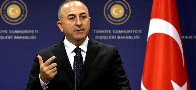 Türkiye Dışişleri Bakanı Mevlüt Çavuşoğlu'ndan açıklama
