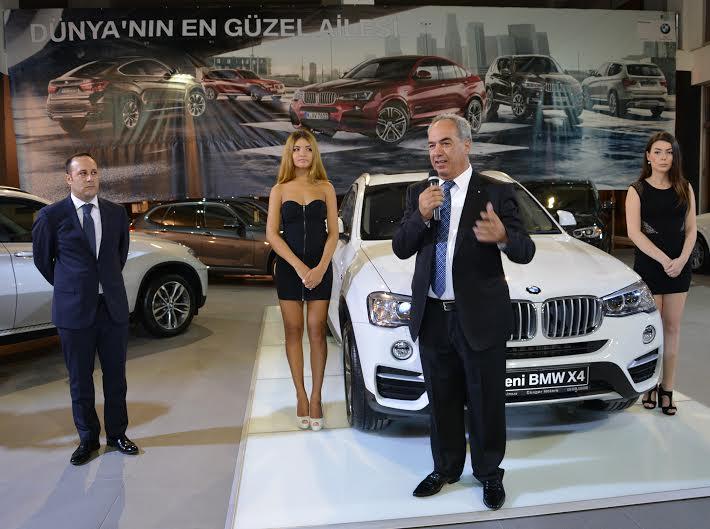 YENİ BMW X4, SIRADIŞI.