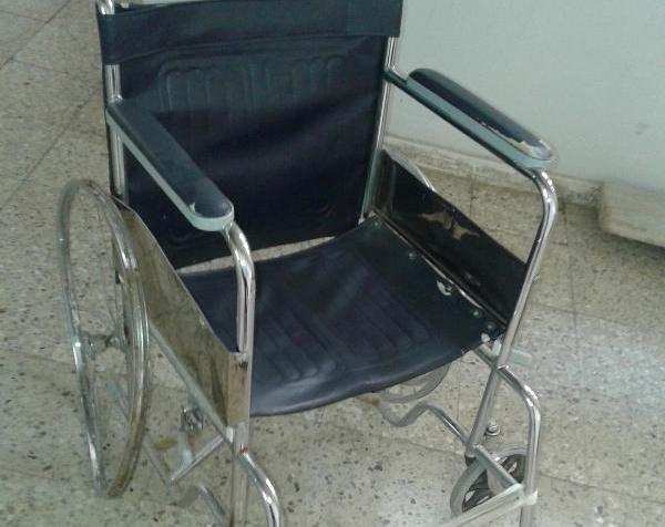 Hastalara tekerlekli engel!
