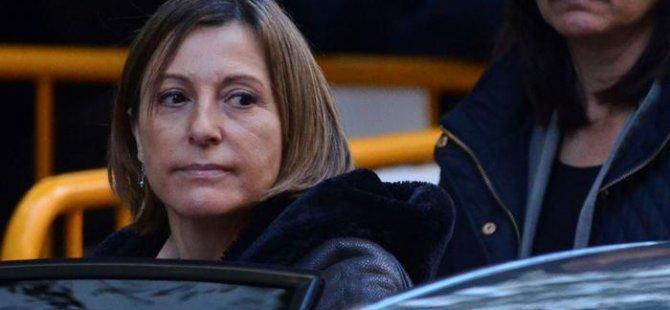 Katalan Parlamento Başkanı kefaletle serbest kalacak