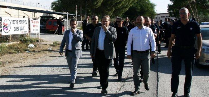 Merkezi Cezaevi'ndeki grev sona erdi