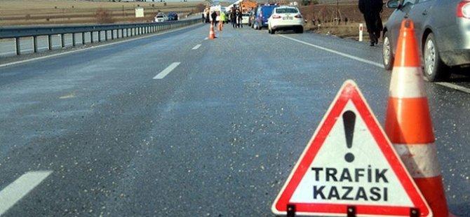 Bir haftada 66 trafik kazası: 29 yaralı