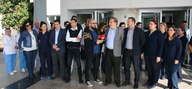 Dr. Burhan Nalbantoğlu Hastanesi'nde görevli eksikliği