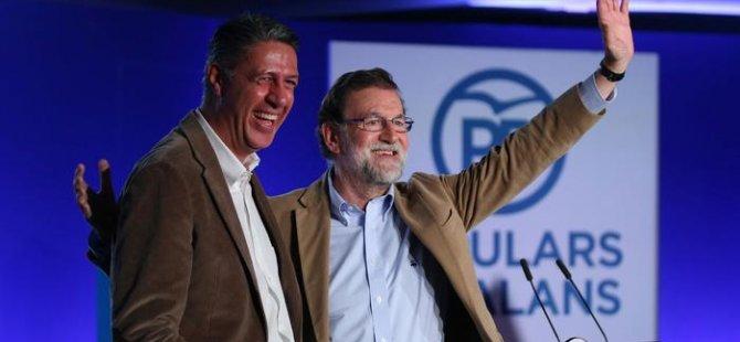 Rajoy referandumdan sonra ilk kez Katalonya'da