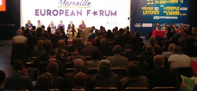 YKP, Marsilya avrupalılar Forumu'na katıldı