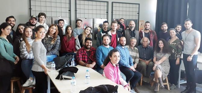 YDÜ, GSTF, Plastik Sanatlar Bölümü Sanatçı İlkay Önsoy'u konuk etti
