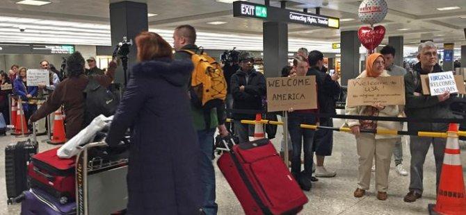 Trump'ın seyahat yasağına kısmi onay