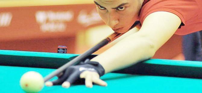DAÜ Bilardo Takımı oyuncusu Mustafa Alnar dünya 3.'sü oldu