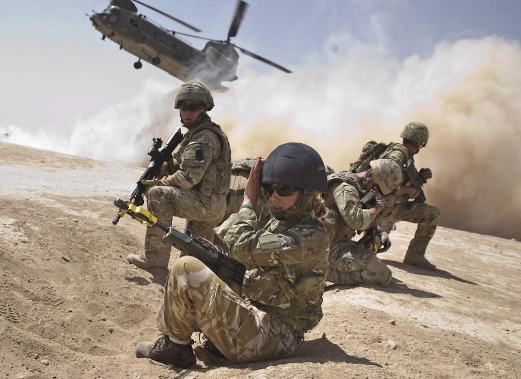 Afganistan'da patlama: Üç NATO askeri öldü