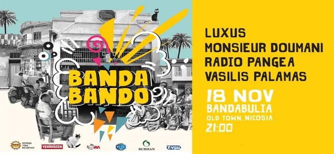 Bandabando etkinliği Cumartesi günü yapılıyor