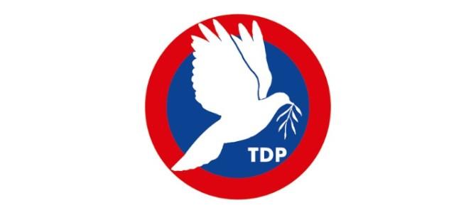 TDP'de aday belirleme Pazar günü