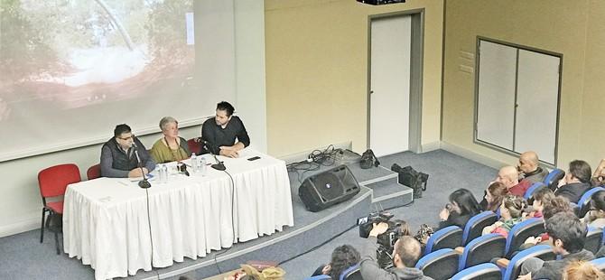 İrfan Günsel Kongre Merkezi'nde Hakan Çakmak konuşuldu