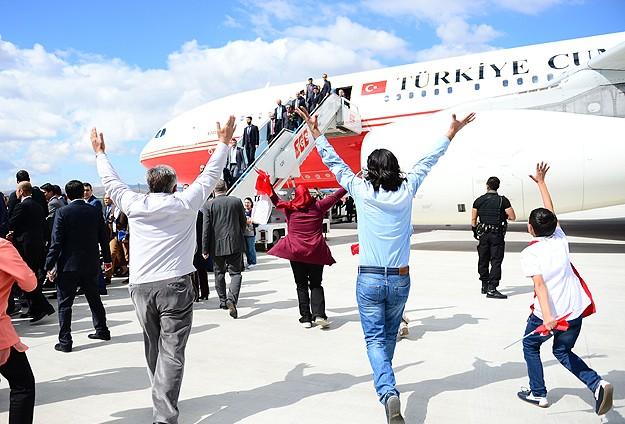 Musul'da rehin alınanlar Türkiye'de