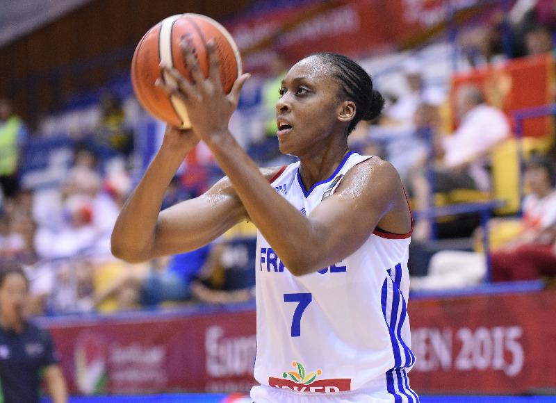 Dünyaca Ünlü Fransız Basketbolcu Sandrine Gruda Yakın Doğu Üniversitesi'nde…