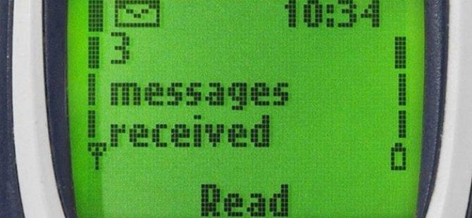 Kısa mesaj ya da diğer adıyla SMS 25 yaşında!