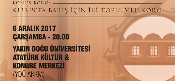 Lefkoşa Belediye Orkestrası ile İki Toplumlu Koro'dan ortak konser