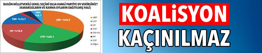 KOALİSYON KAÇINILMAZ