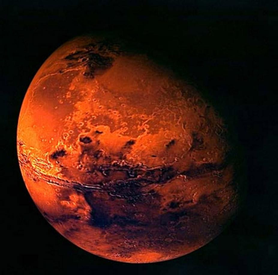 Hindistan Kızıl Gezegen'e inmeyi başardı
