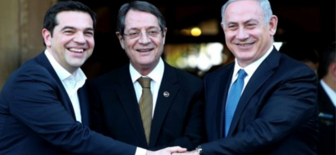 İsrail ve Yunanistan Kıbrıs'taki çözümsüzlüğe 4 milyar dolar ayırdı!