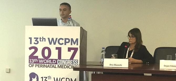 YDÜ Tıp Fakültesi, 13. Dünya Perinatal Tıp Kongresi'nde temsil edildi