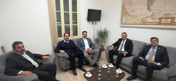 CHP heyeti, CTP'yi ziyaret etti…