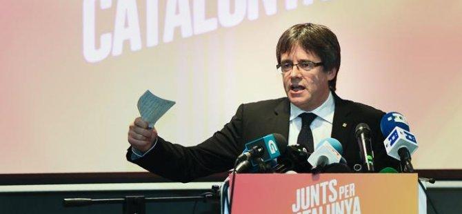 Katalan lider hakkındaki yakalama kararı kaldırıldı