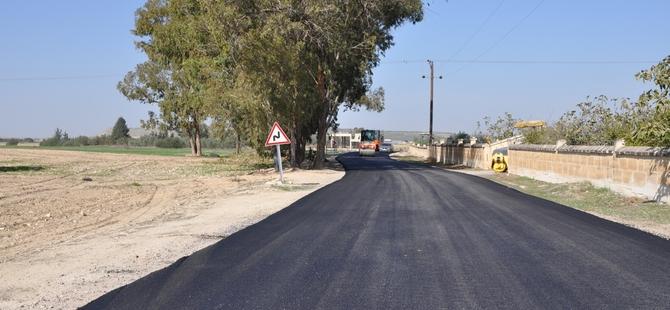 Değirmenlik Belediyesi'ne bağlı köy yolları asfaltlanıyor…