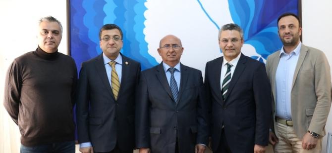 Özyiğit, CHP heyetini kabul etti