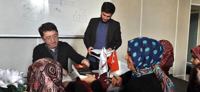 """""""Klasik İslam Düşüncesinde Anti-Atomculuk: Nazzâm, Kindî, İbn Sina ve İbn Hazm Örneği"""" Konferansı"""