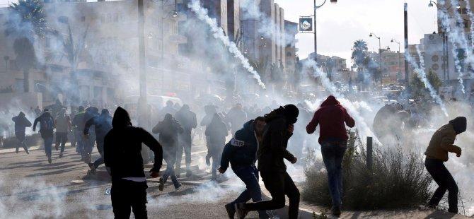 Kudüs kararı sonrası tansiyon yükseliyor