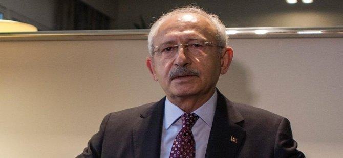 """Kılıçdaroğlu: """"Trump'ın açıklaması Ortadoğu'ya atılan bir bombadır"""""""